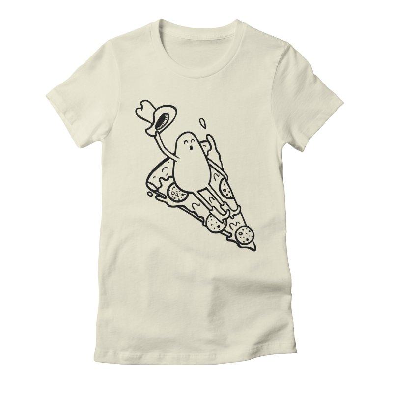 PIZZHAW! Women's T-Shirt by Sad Salesman's Shirts
