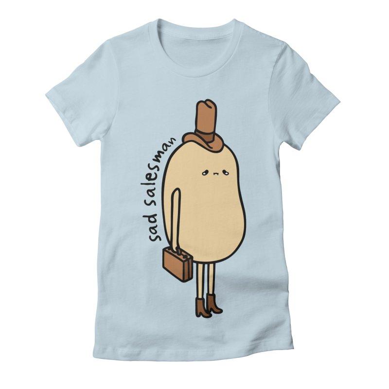 Sad Salesman color Women's T-Shirt by Sad Salesman's Shirts