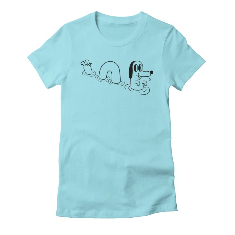 Dogness Women's Fitted T-Shirt by Sad Salesman's Shirts