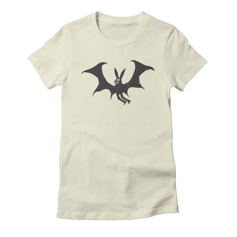 Vampire Women's Fitted T-Shirt by Sad Salesman's Shirts