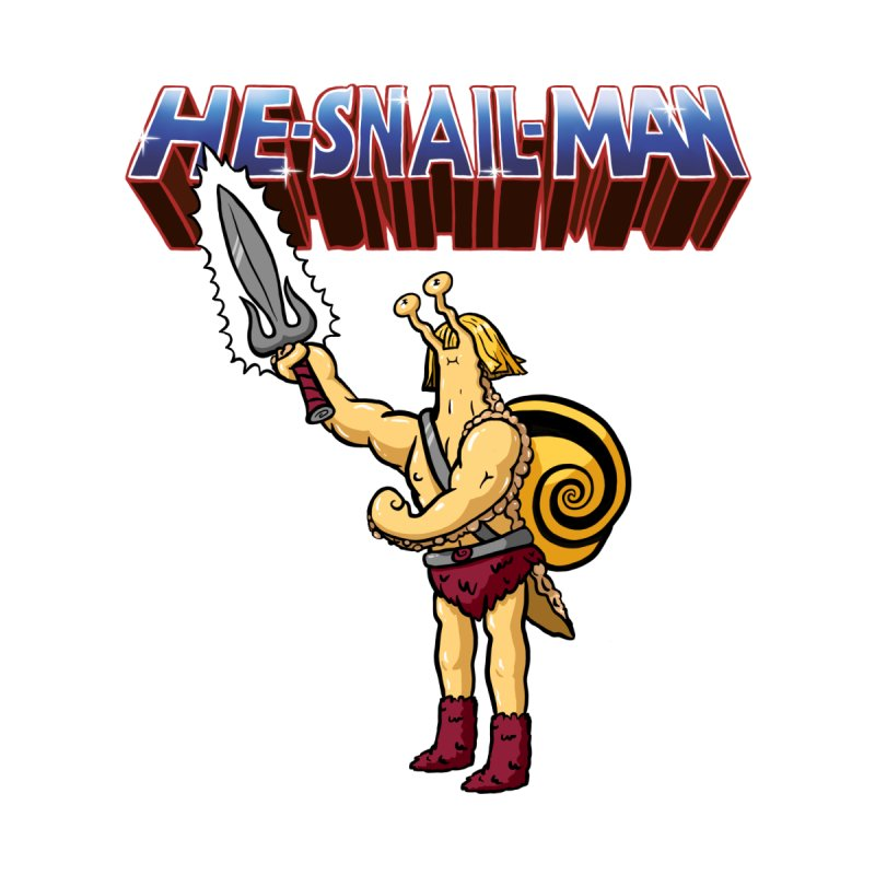 He-Snail-Man Men's T-Shirt by Sad Salesman's Shirts