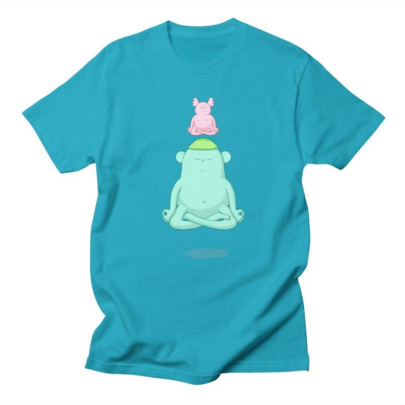 Zen Men's T-Shirt by Sad Salesman's Shirts