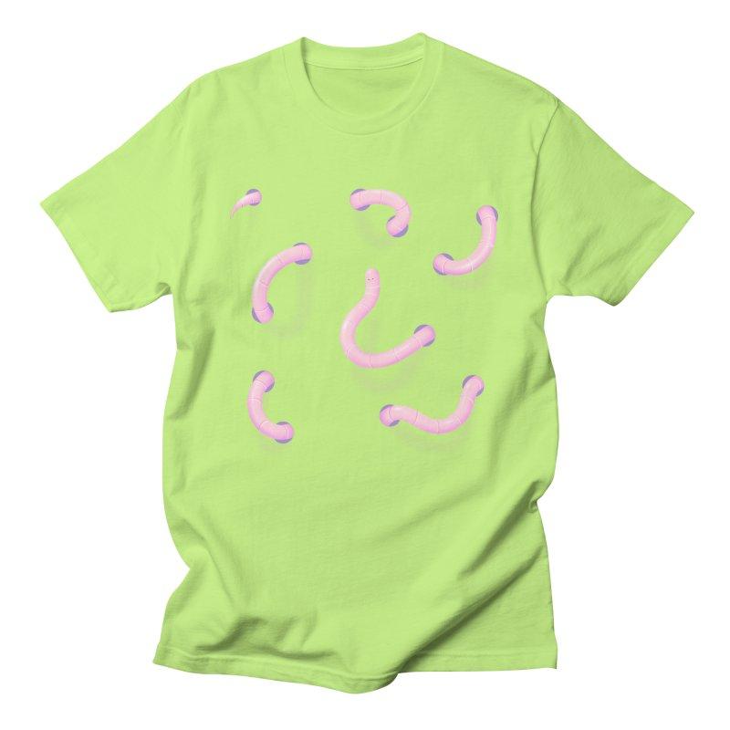 Worm holes Women's T-Shirt by Sad Salesman's Shirts