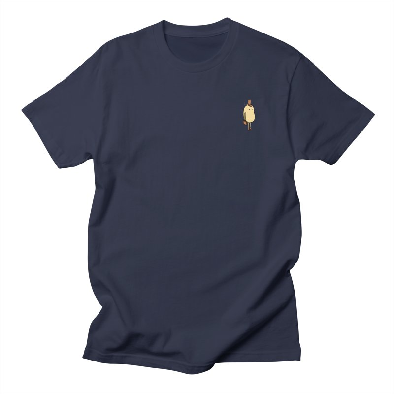 Sad salesman  in Men's T-Shirt Navy by Sad Salesman's Shirts