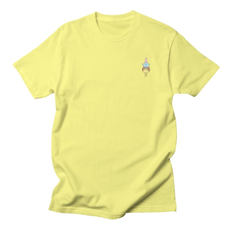 Oracle in Men's T-Shirt Lemon by Sad Salesman's Shirts