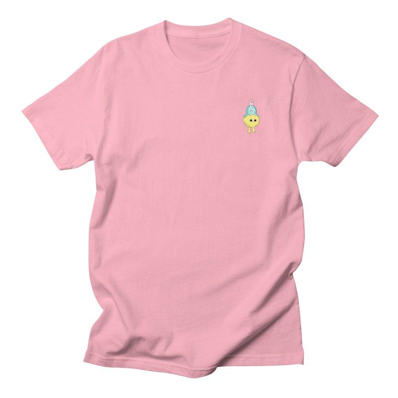 Dessert oracle  in Men's Regular T-Shirt Light Pink by Sad Salesman's Shirts