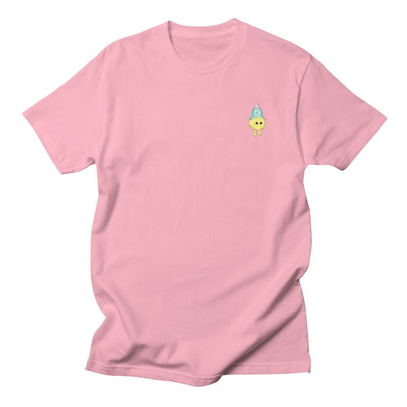 Dessert oracle  in Men's T-Shirt Light Pink by Sad Salesman's Shirts