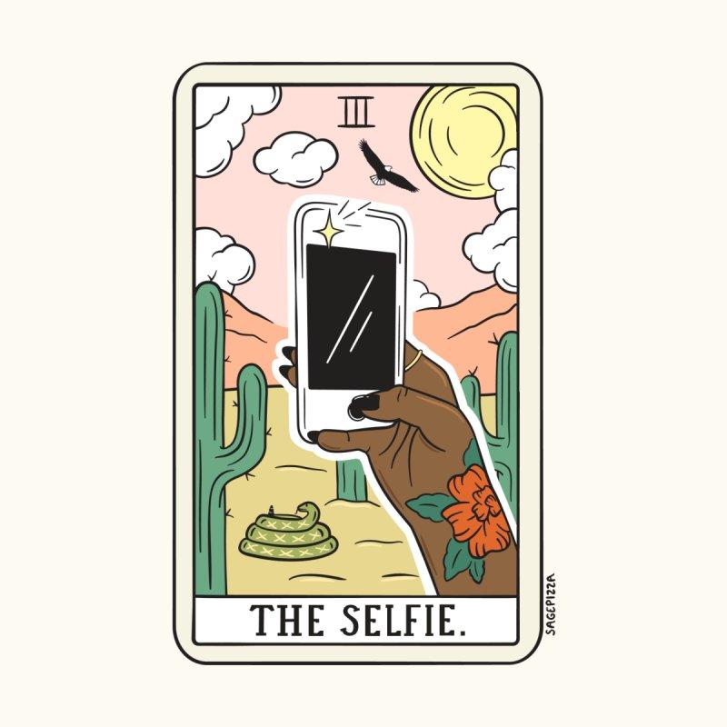SELFIE READING (DARK) Women's Longsleeve T-Shirt by Sagepizza