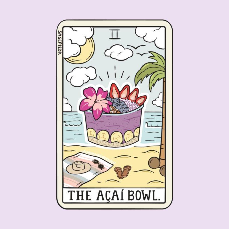 Acai Bowl Reading Men's T-Shirt by Sagepizza