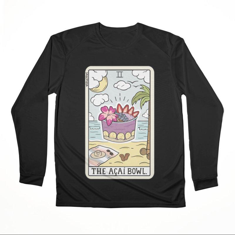 Acai Bowl Reading Women's Longsleeve T-Shirt by Sagepizza