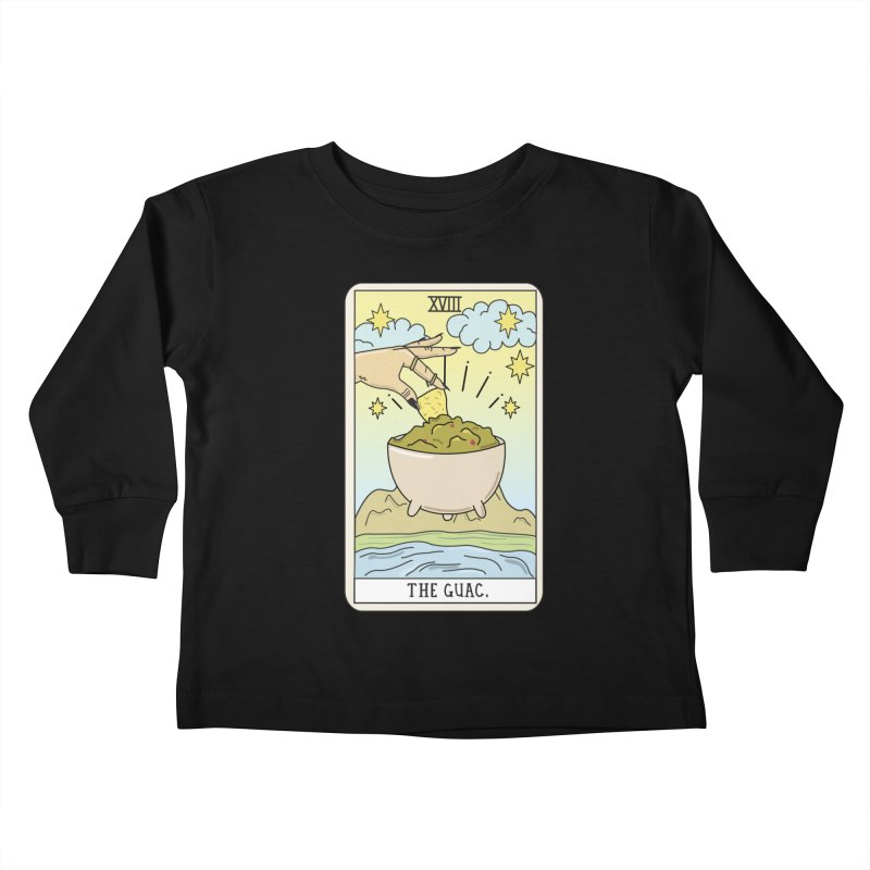 Guac Reading Kids Toddler Longsleeve T-Shirt by Sagepizza