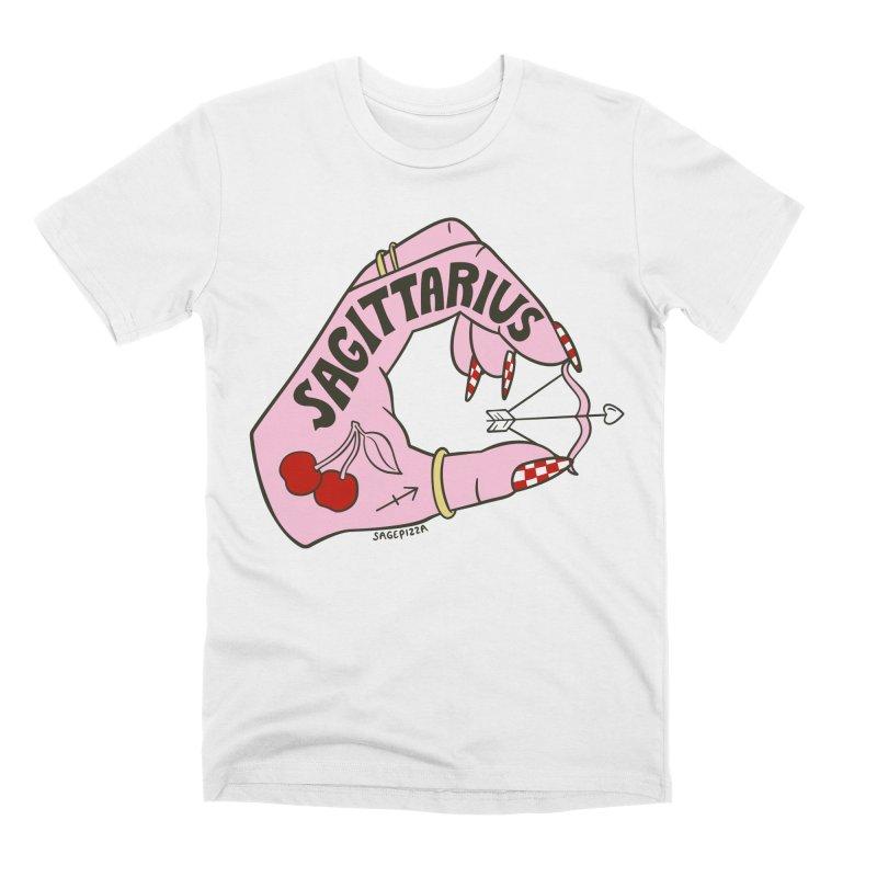 SAGITTARIUS Men's T-Shirt by Sagepizza