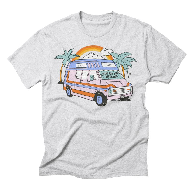 Livin' For The Weekend Men's T-Shirt by Sagepizza