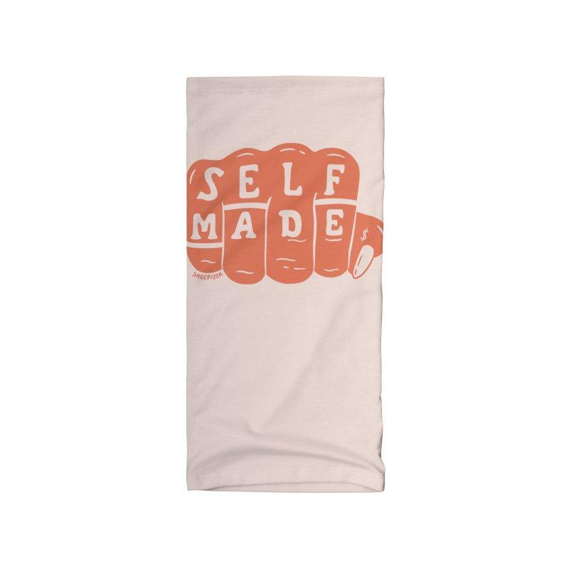 Self Made (Peach) Accessories Neck Gaiter by Sagepizza