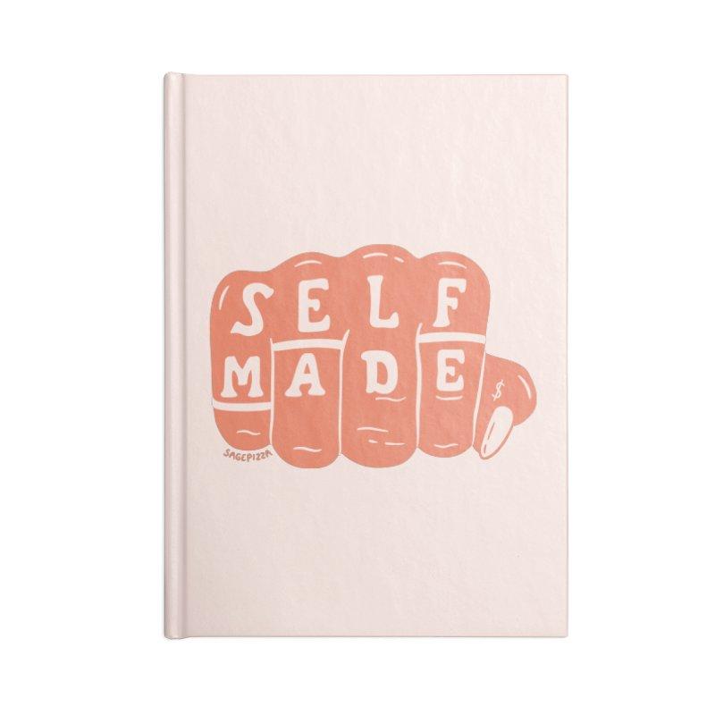 Self Made (Peach) Accessories Notebook by Sagepizza