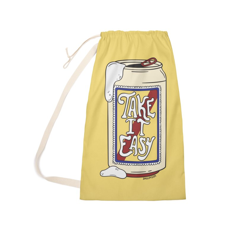 Take It Easy Accessories Bag by Sagepizza