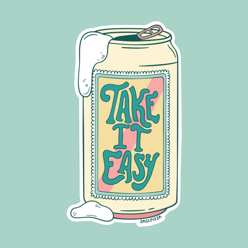 Take It Easy (Pastel Version) Accessories Notebook by Sagepizza