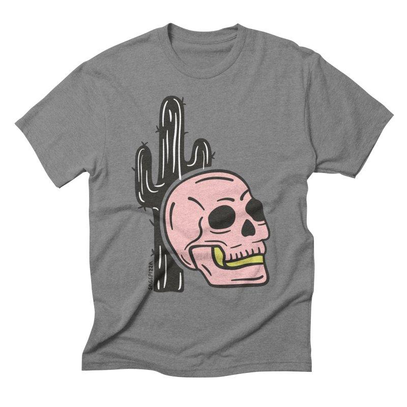 Desert Skull Men's T-Shirt by Sagepizza