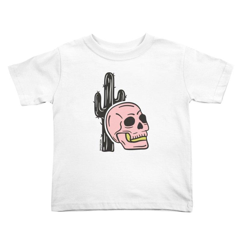 Desert Skull Kids Toddler T-Shirt by Sagepizza