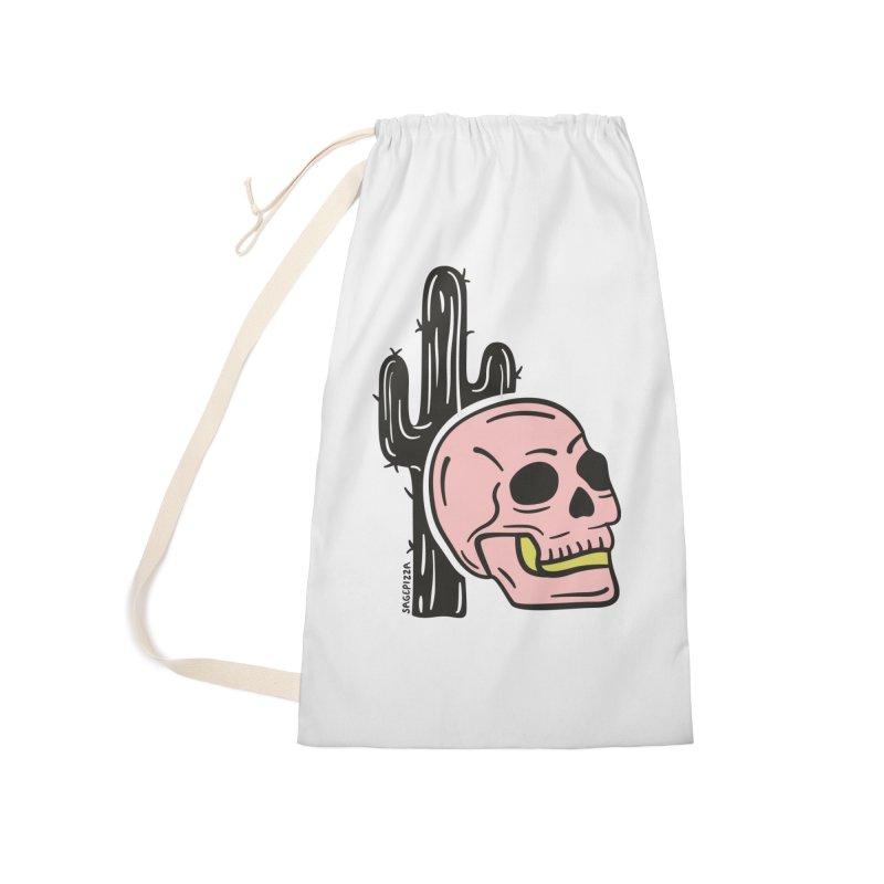Desert Skull Accessories Bag by Sagepizza
