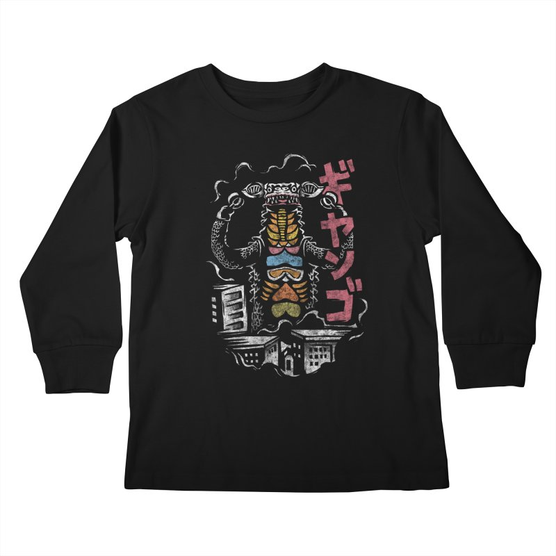 Gango Kids Longsleeve T-Shirt by saimen's Artist Shop