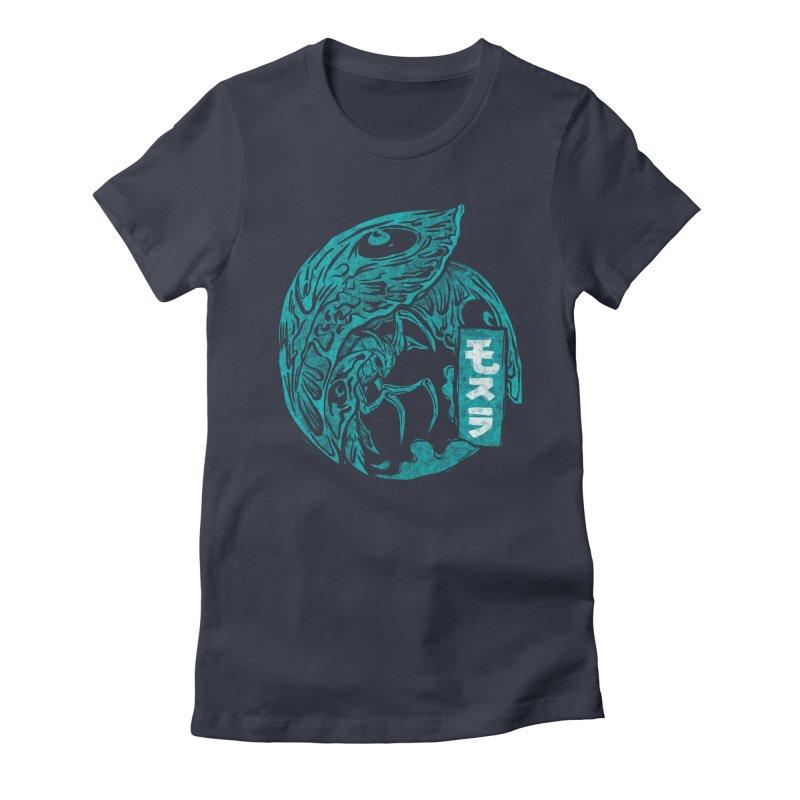 Mosura Women's Fitted T-Shirt by saimen's Artist Shop