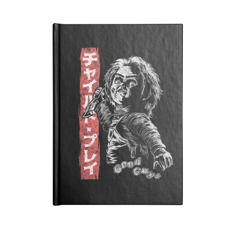 Good Guy Accessories Lined Journal Notebook by saimen's Artist Shop