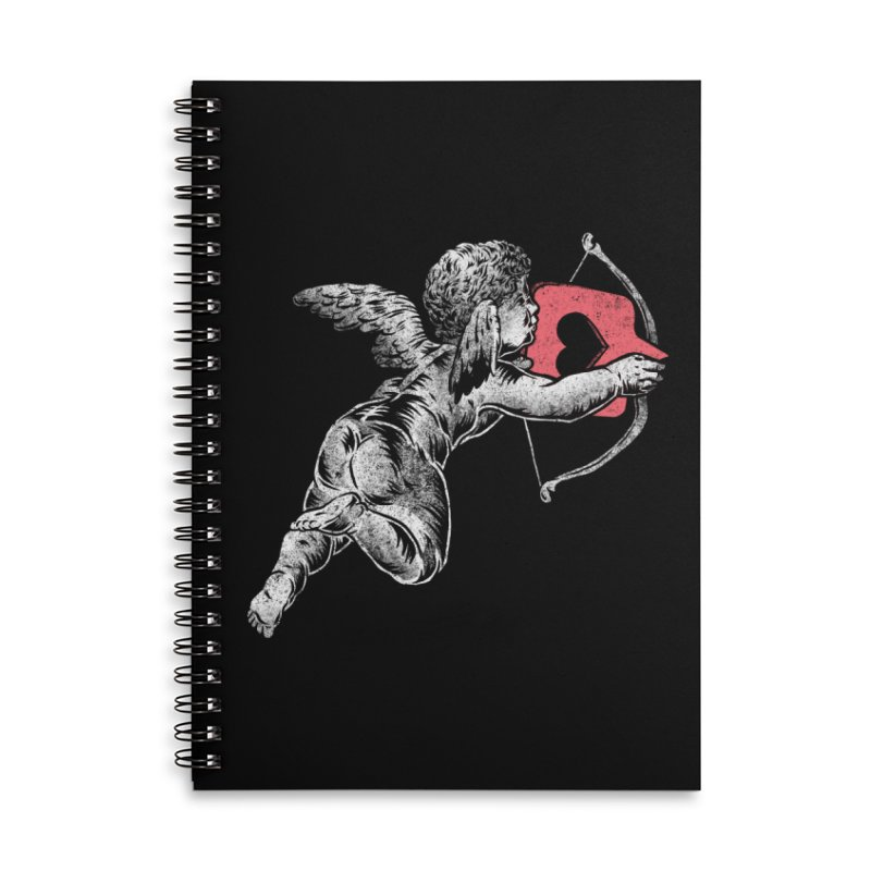 Contemporary Romance Accessories Lined Spiral Notebook by saimen's Artist Shop
