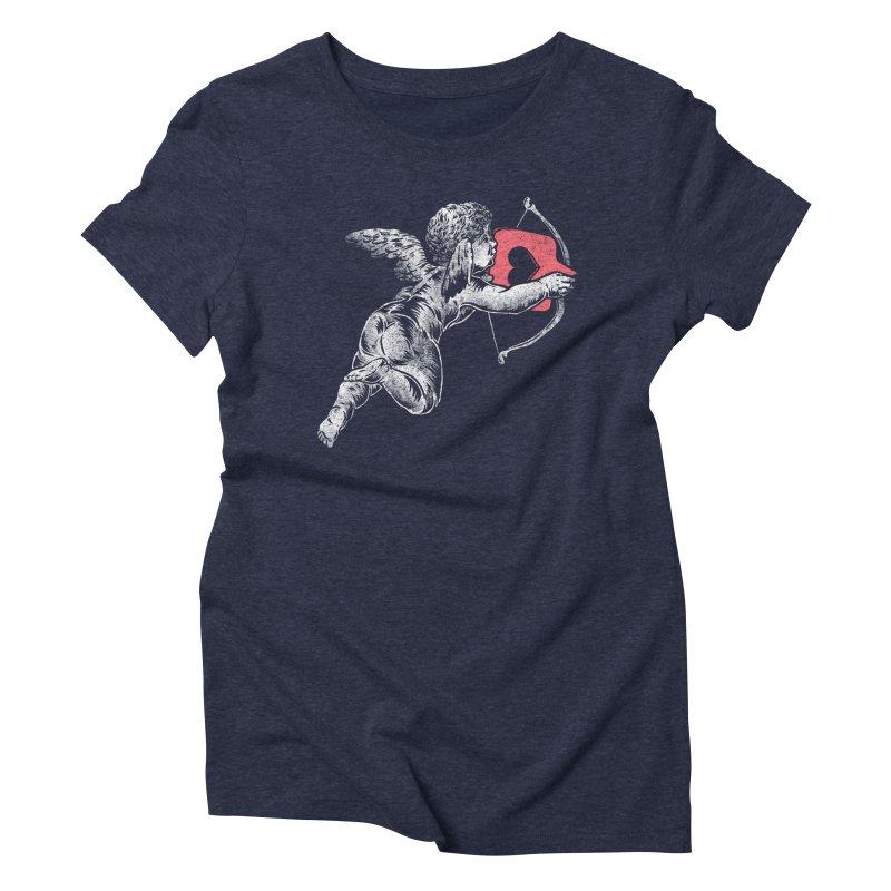 Contemporary Romance Women's Triblend T-Shirt by saimen's Artist Shop