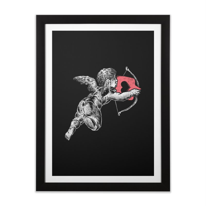 Contemporary Romance Home Framed Fine Art Print by saimen's Artist Shop