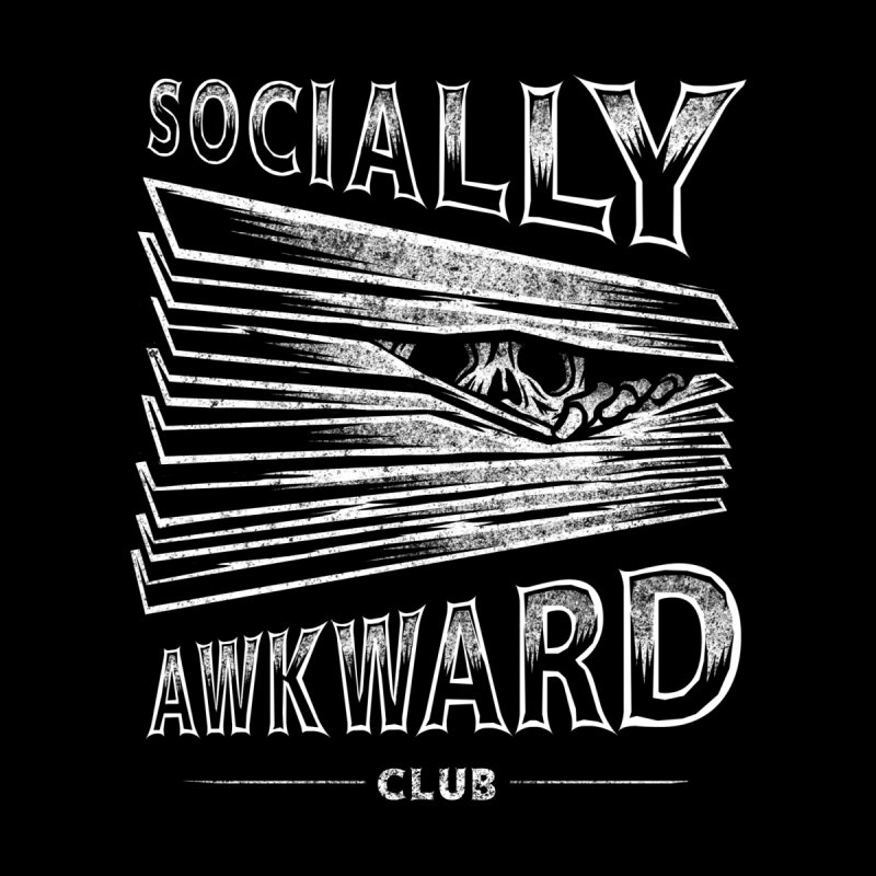 Socially Awkward Club Men's T-Shirt by saimen's Artist Shop
