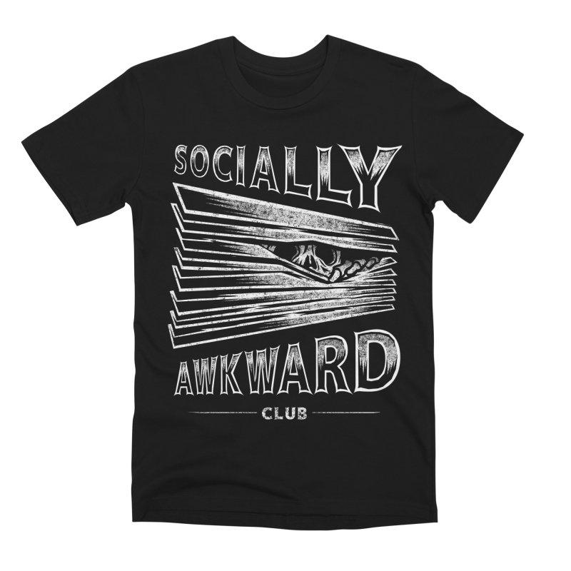 Socially Awkward Club Men's Premium T-Shirt by saimen's Artist Shop