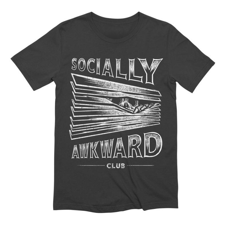 Socially Awkward Club Men's Extra Soft T-Shirt by saimen's Artist Shop