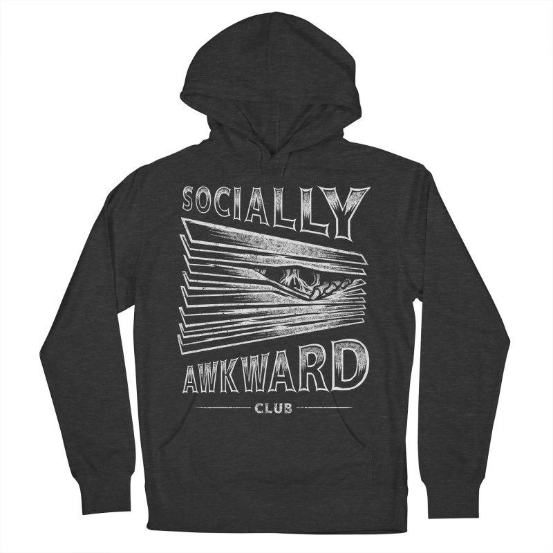 Socially Awkward Club Men's French Terry Pullover Hoody by saimen's Artist Shop
