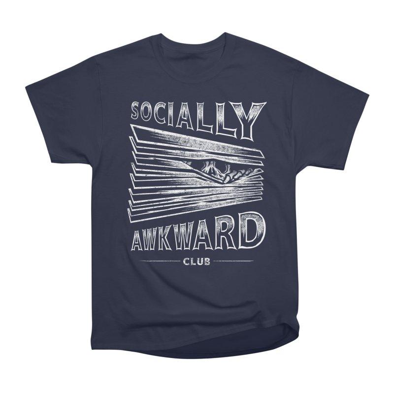 Socially Awkward Club Women's Heavyweight Unisex T-Shirt by saimen's Artist Shop
