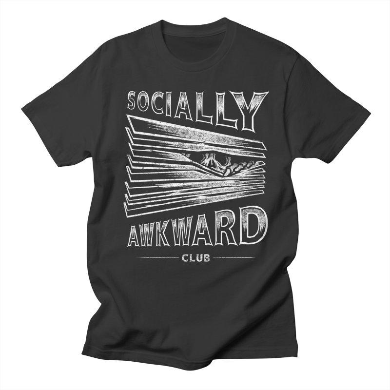 Socially Awkward Club Men's Regular T-Shirt by saimen's Artist Shop