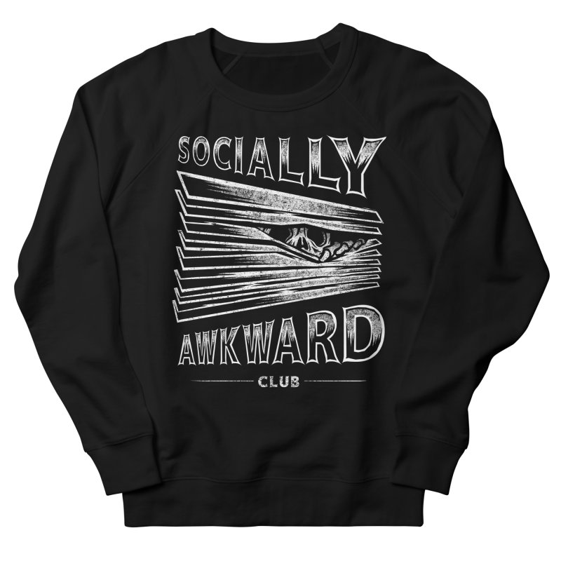 Socially Awkward Club Men's French Terry Sweatshirt by saimen's Artist Shop
