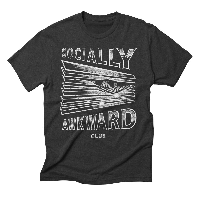 Socially Awkward Club Men's Triblend T-Shirt by saimen's Artist Shop