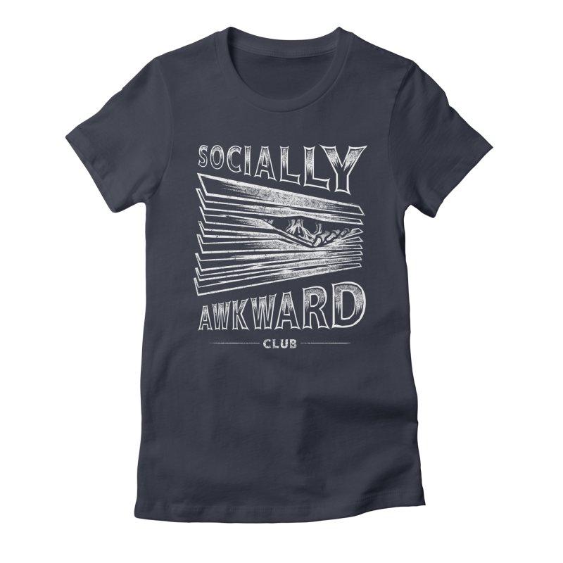 Socially Awkward Club Women's T-Shirt by saimen's Artist Shop