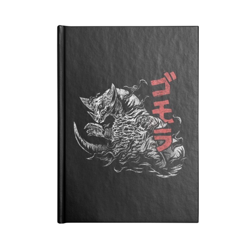 Gomora Accessories Blank Journal Notebook by saimen's Artist Shop