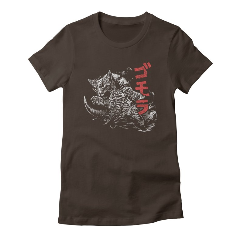 Gomora Women's Fitted T-Shirt by saimen's Artist Shop