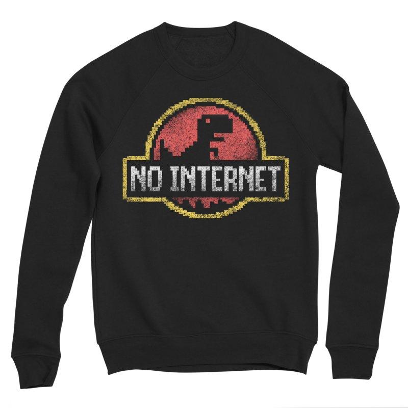 No Internet Men's Sponge Fleece Sweatshirt by saimen's Artist Shop