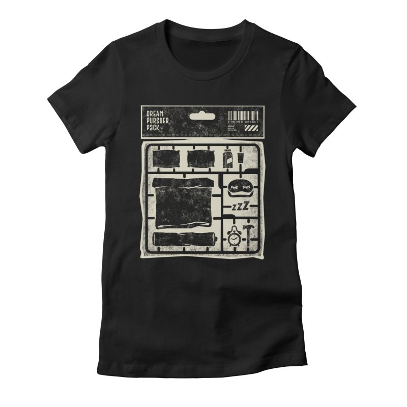 Dream Pursuer pack Women's Fitted T-Shirt by saimen's Artist Shop