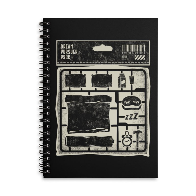 Dream Pursuer pack Accessories Lined Spiral Notebook by saimen's Artist Shop