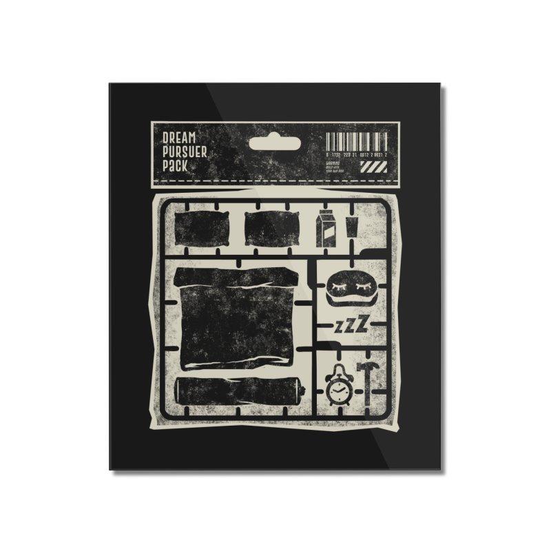 Dream Pursuer pack Home Mounted Acrylic Print by saimen's Artist Shop