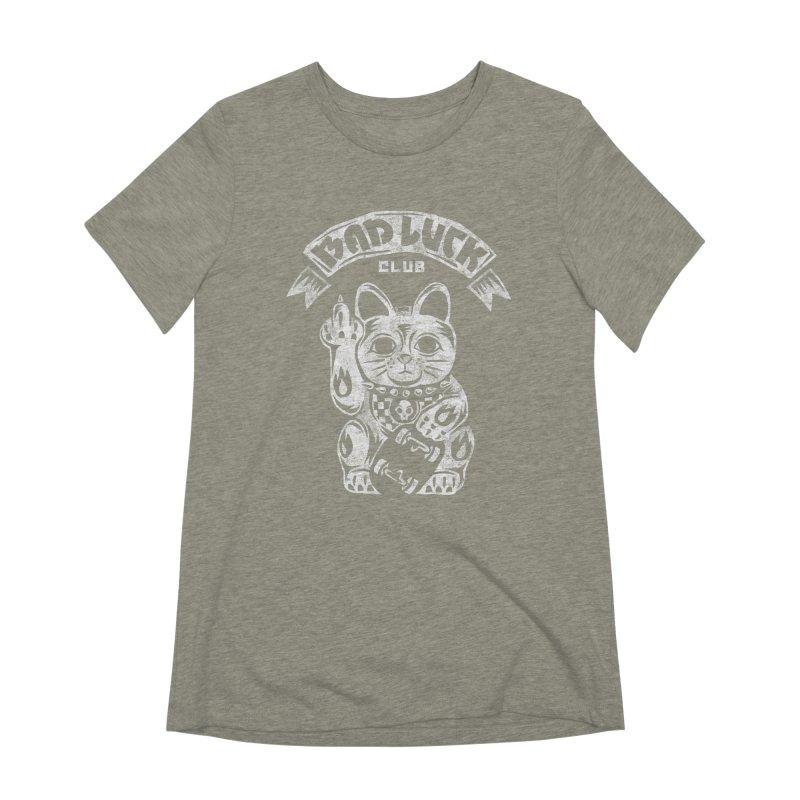Bad Luck Club Women's Extra Soft T-Shirt by saimen's Artist Shop