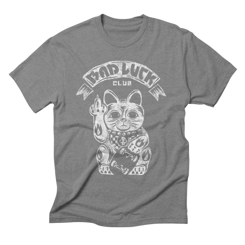 Bad Luck Club Men's T-Shirt by saimen's Artist Shop