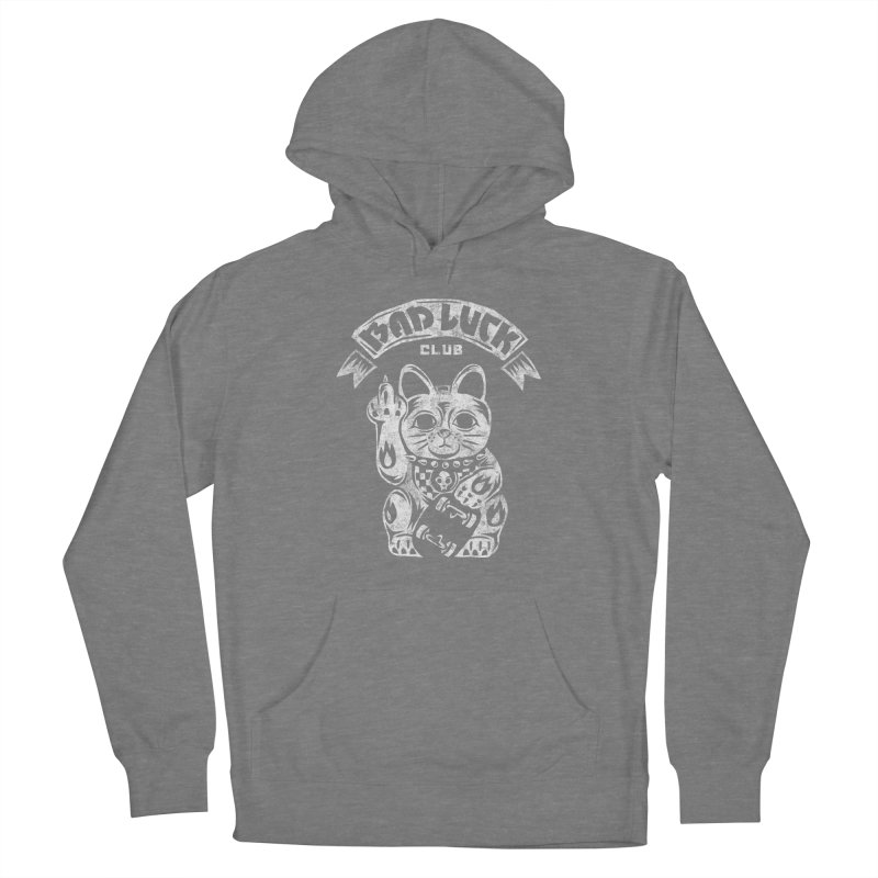 Bad Luck Club Men's French Terry Pullover Hoody by saimen's Artist Shop