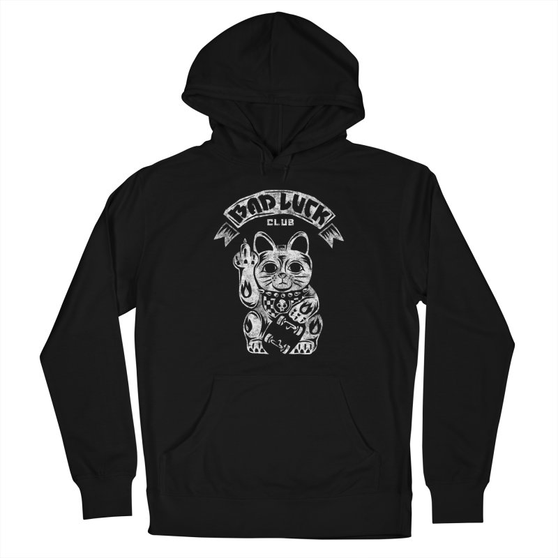 Bad Luck Club Women's French Terry Pullover Hoody by saimen's Artist Shop