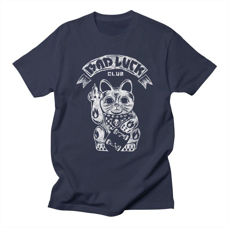 Bad Luck Club Men's Regular T-Shirt by saimen's Artist Shop